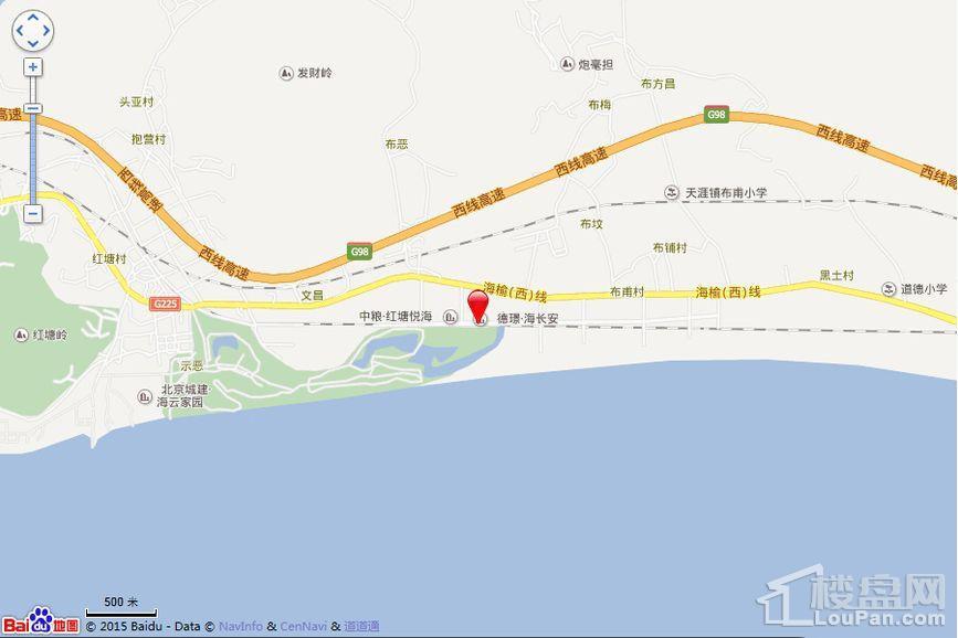 德璟·海长安位置图