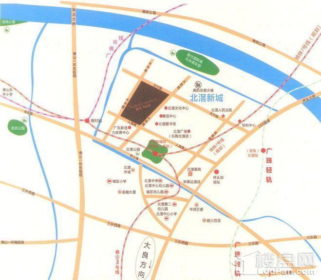 雅居乐英伦首府位置图