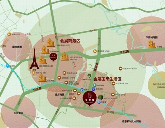 永泰城(公寓)位置图