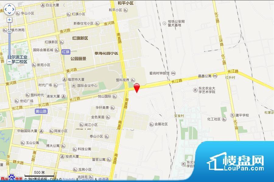 华鸿·金色柏林位置图