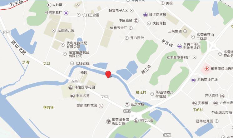 茶山阿里谷位置图