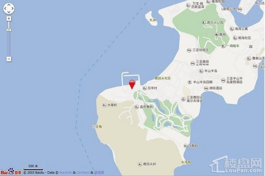 复地·鹿岛位置图