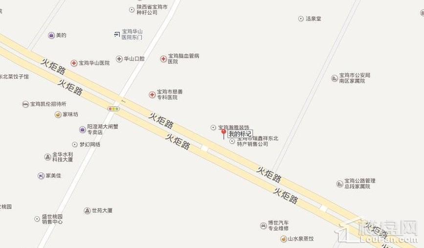 公园御府位置图