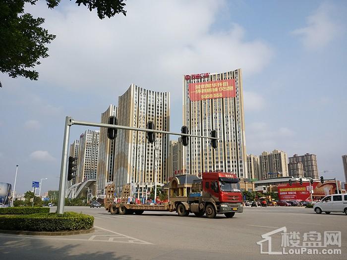 安吉万达广场实景图