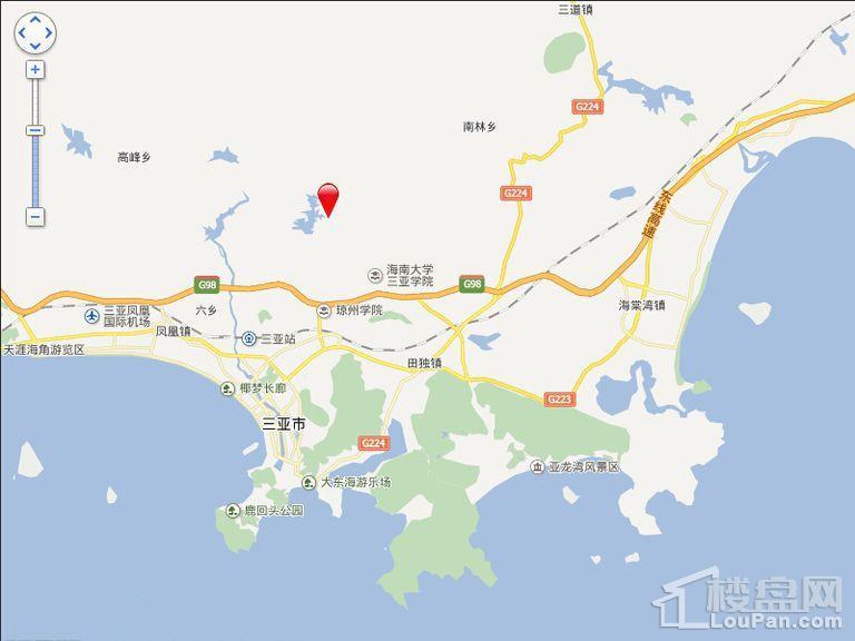 海韵·半岭温泉位置图