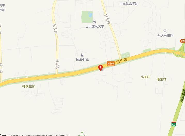 济南万达城位置图