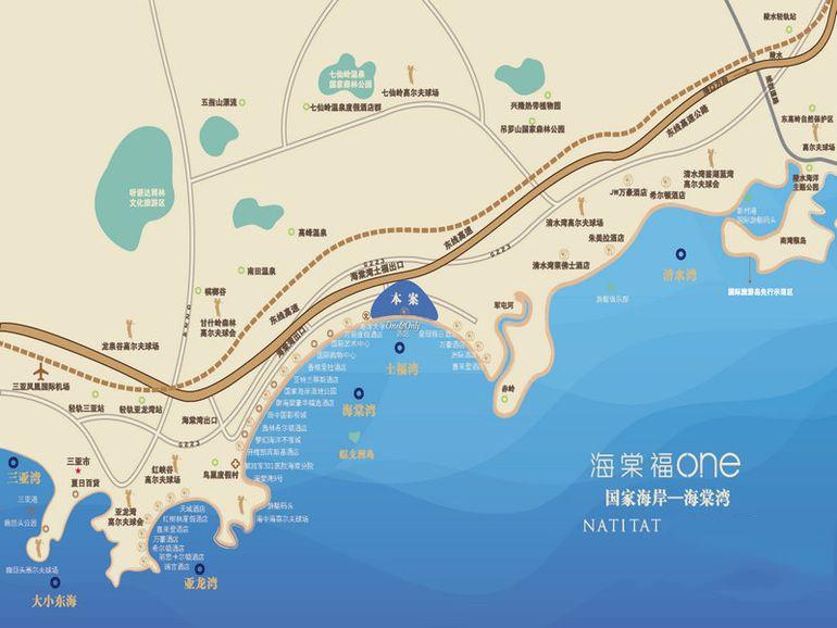 葛洲坝·海棠福湾位置图