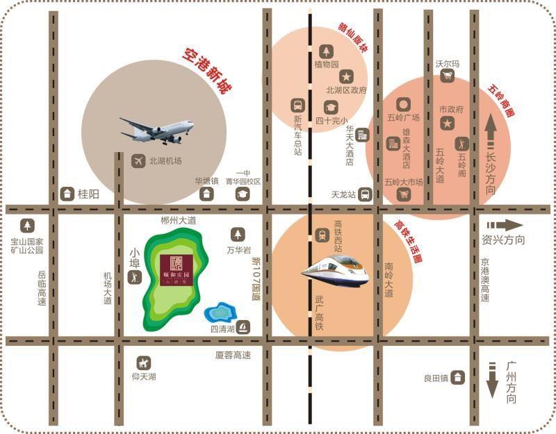 颐和庄园位置图