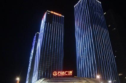 湛江万达广场实景图