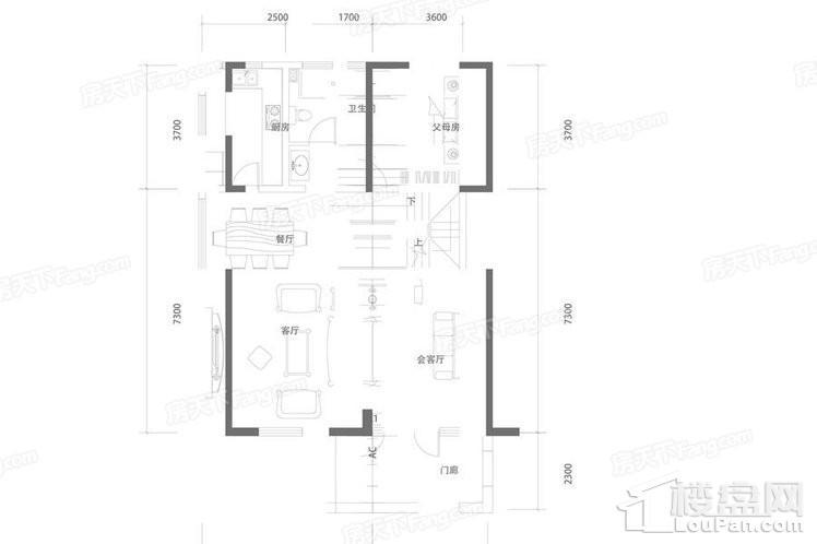 E1洋房家庭层