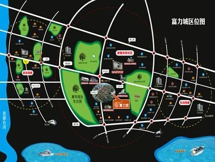 包头富力城位置图