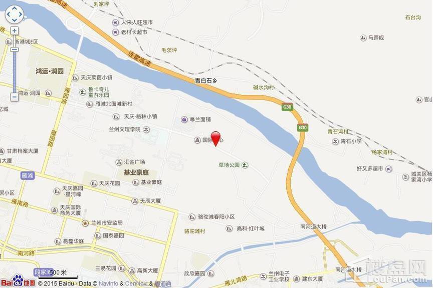 中广宜景湾尚城位置图
