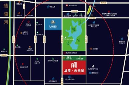 卓亚未来城效果图