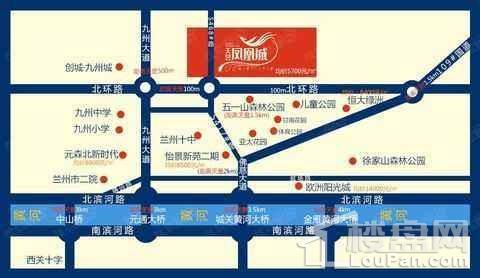 天昱凤凰城位置图