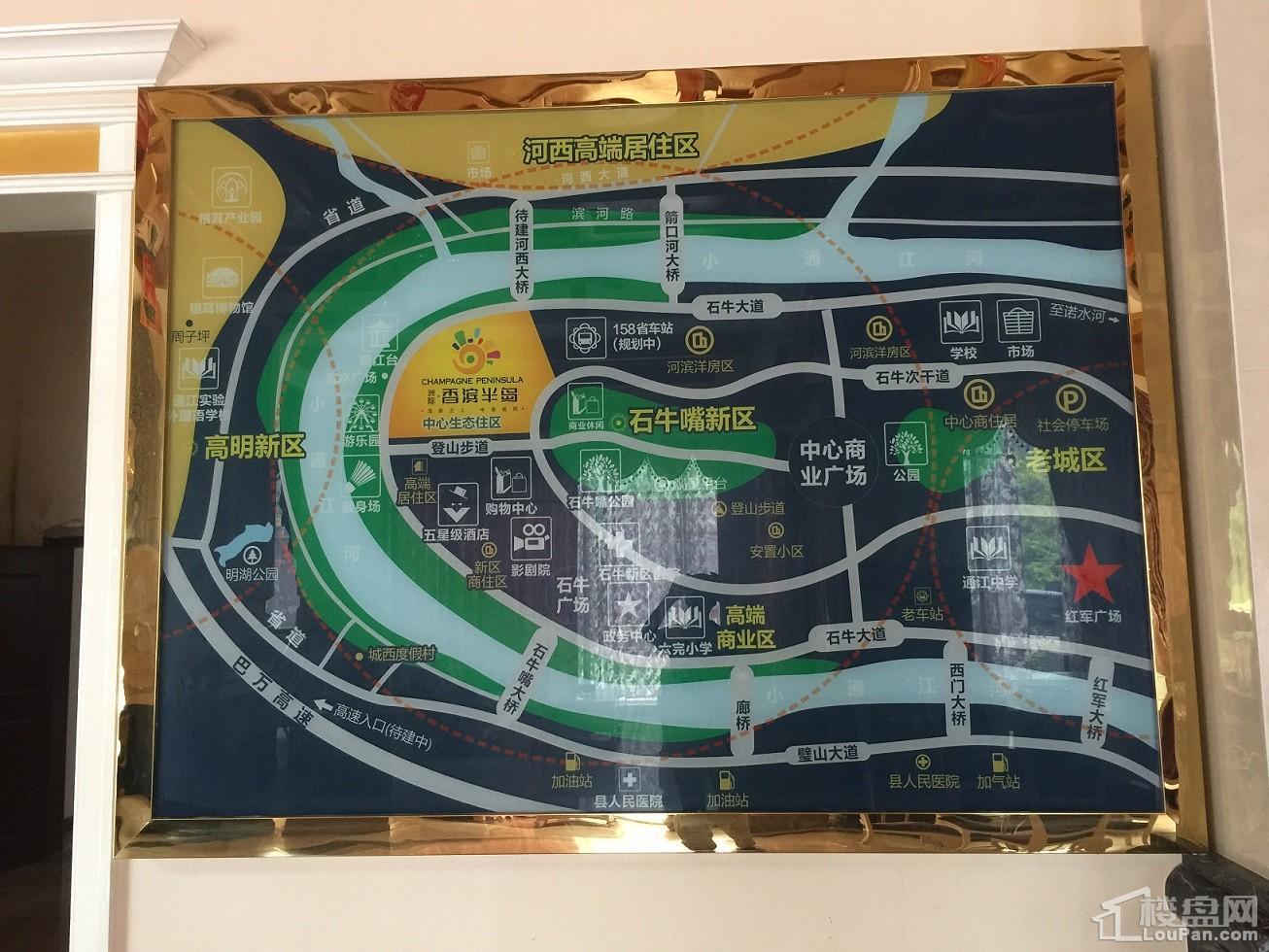 香滨半岛位置图