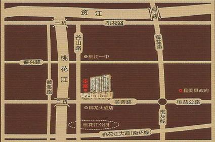 决胜中心广场位置图