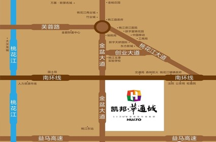 凯邦华通城位置图