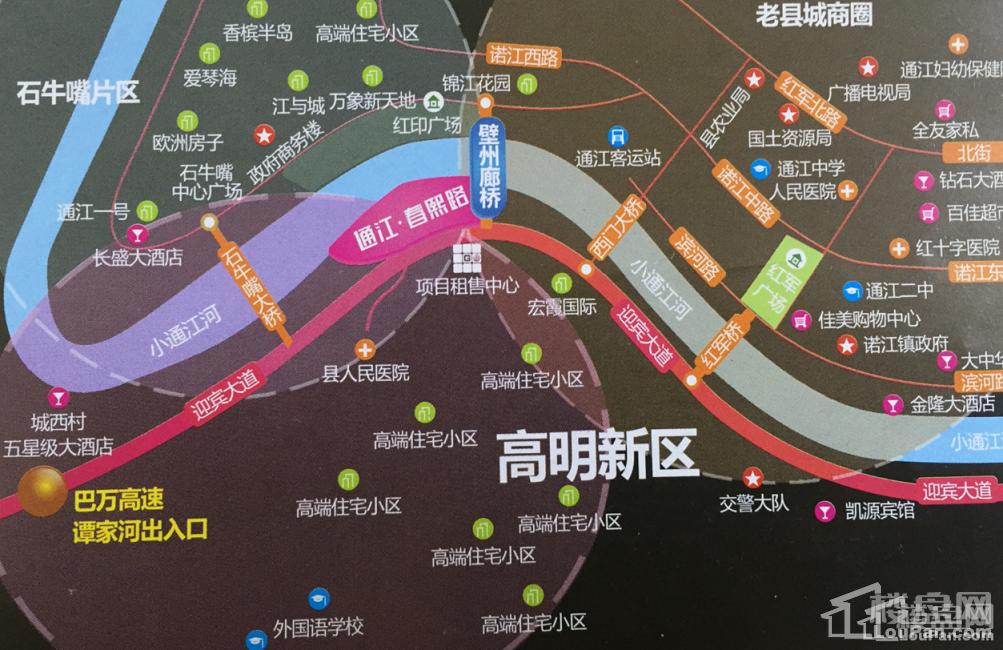 壁洲廊桥位置图