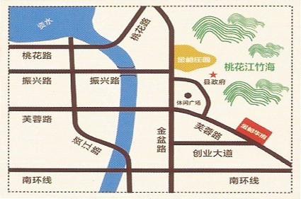金峪华府位置图