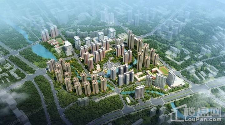 万科·城市之光效果图