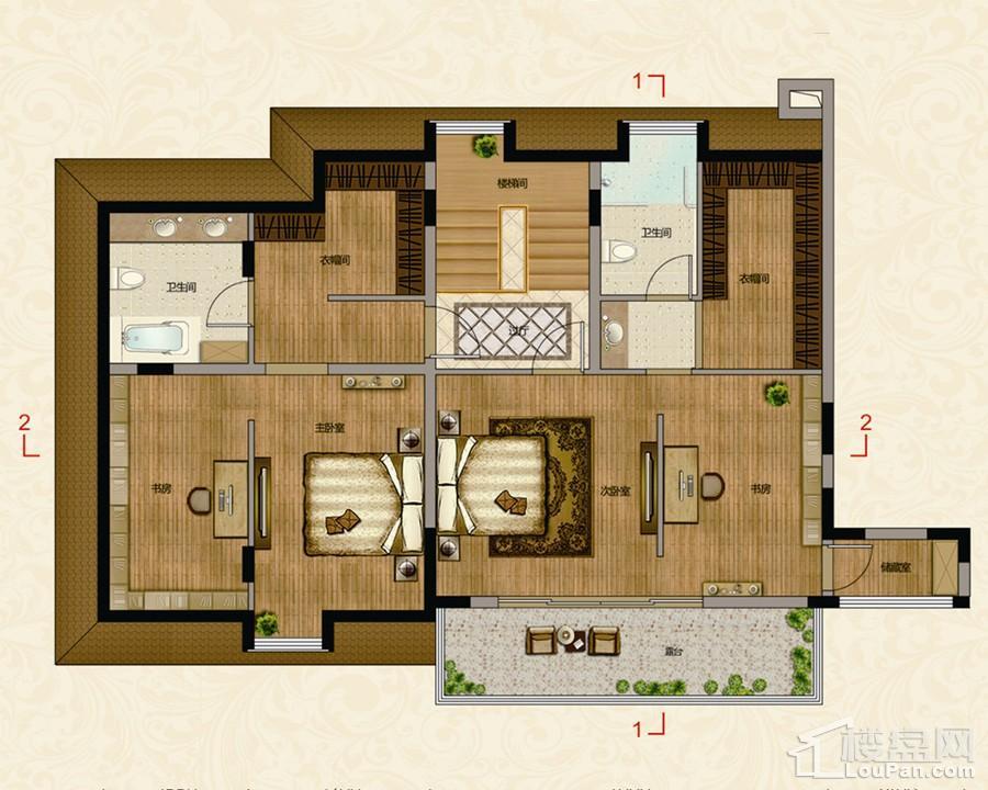 F2楼中楼二层