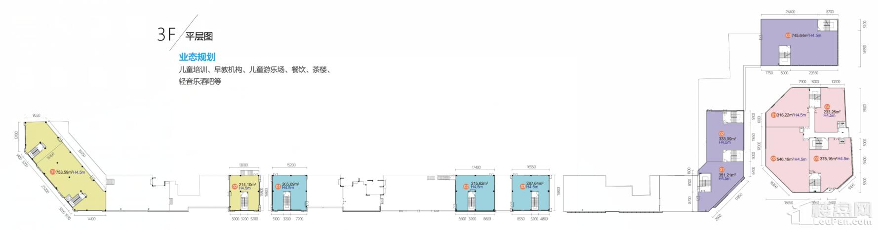 商业3F平面图