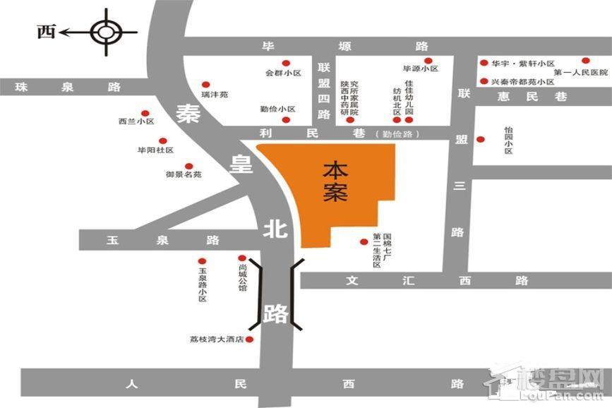 华泰玉景台位置图