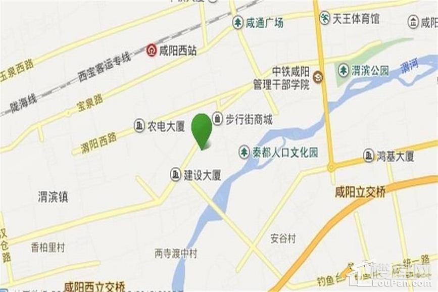 书香河畔位置图