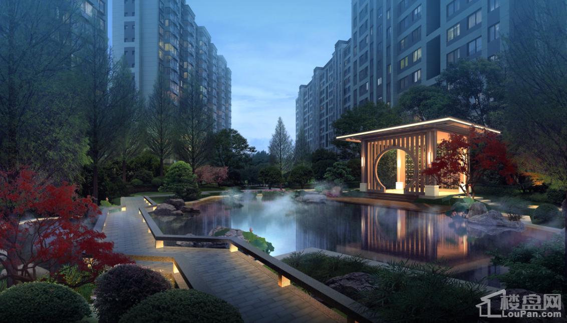 中铁城实景图