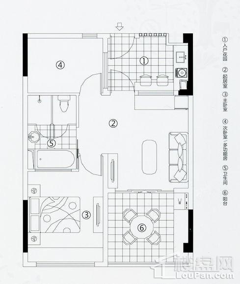 度假公寓户型