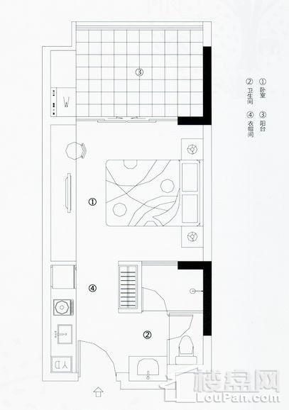 度假公寓1户型