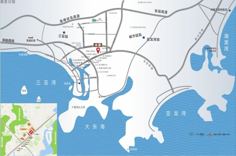 美亚公馆位置图