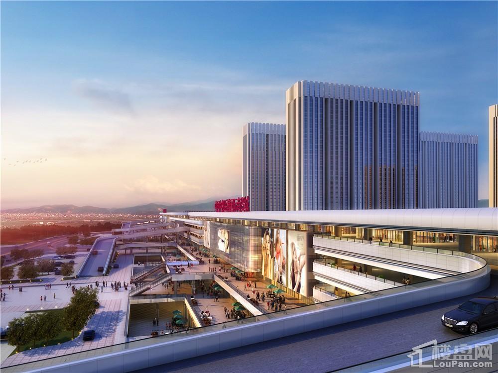岳塘国际商贸城效果图