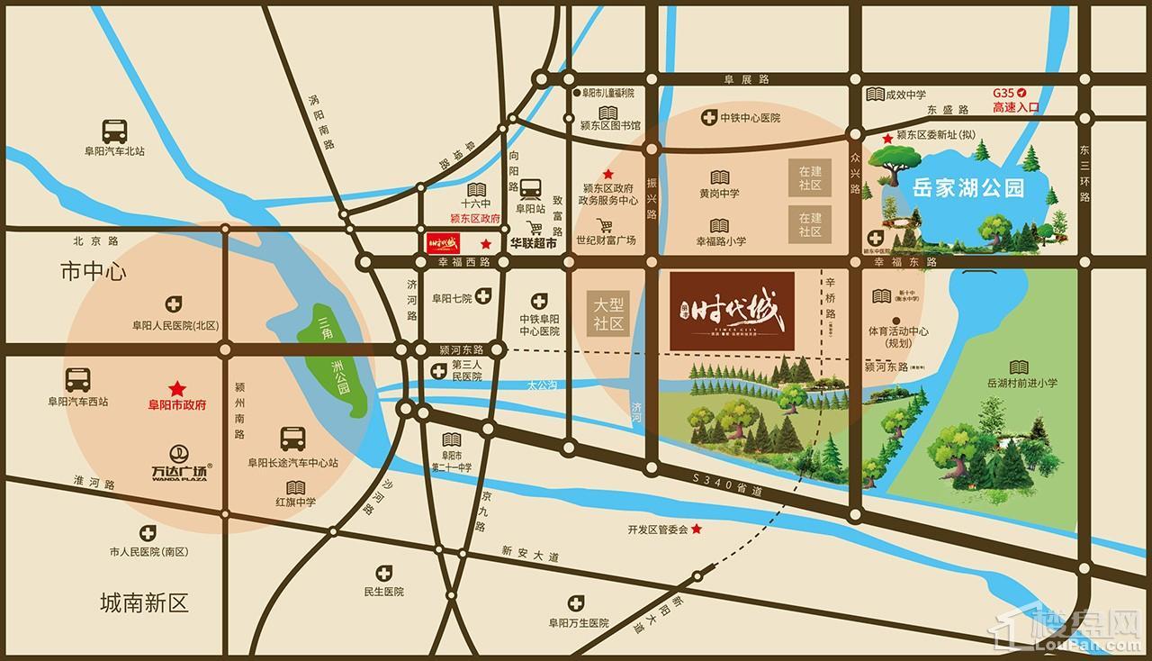 丽丰时代城位置图