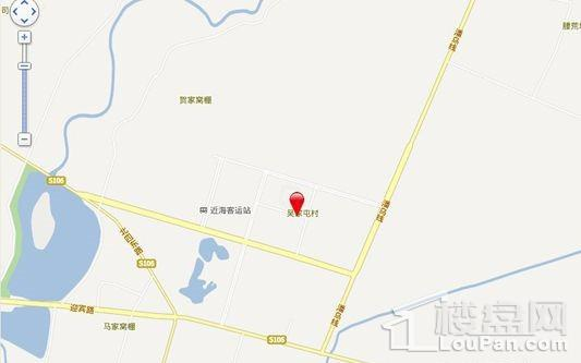 富兴·湖畔欣城位置图