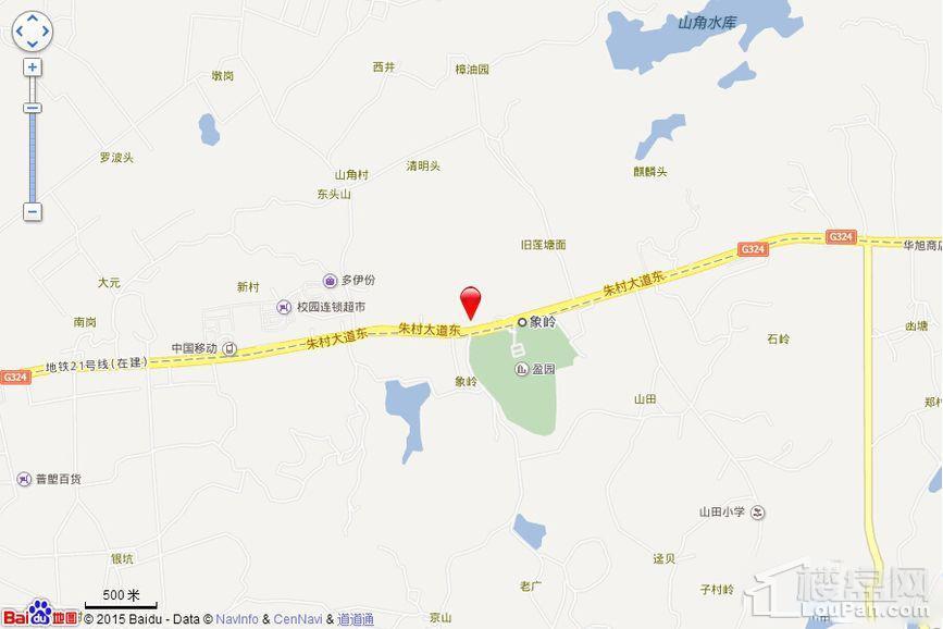 汇港·威华国际位置图