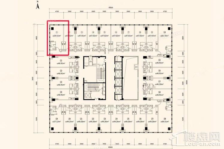 54.51平LOFT公寓
