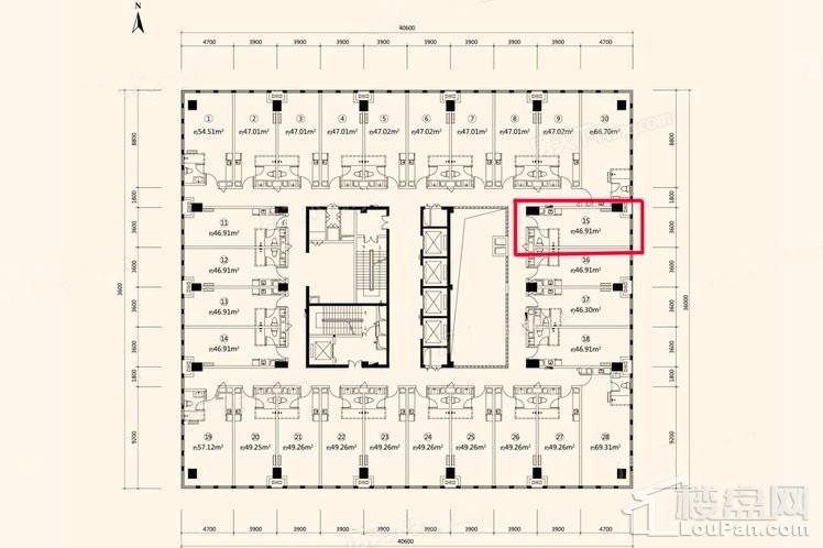 46.91平LOFT公寓