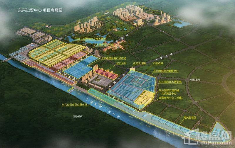东兴边贸中心效果图