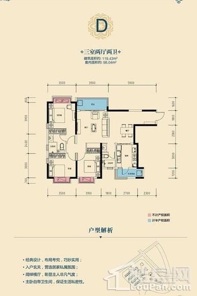 高层4号楼D户型