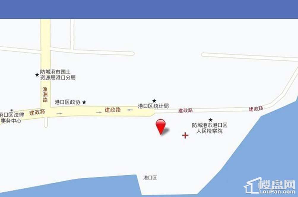 海湾1号位置图
