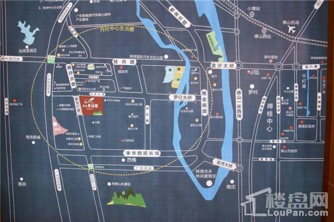 丹灶碧桂园位置图