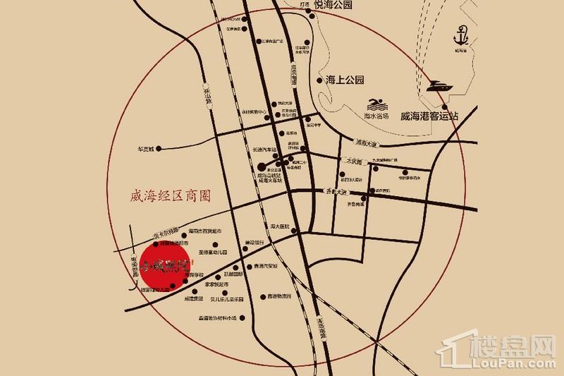 小城熙院位置图