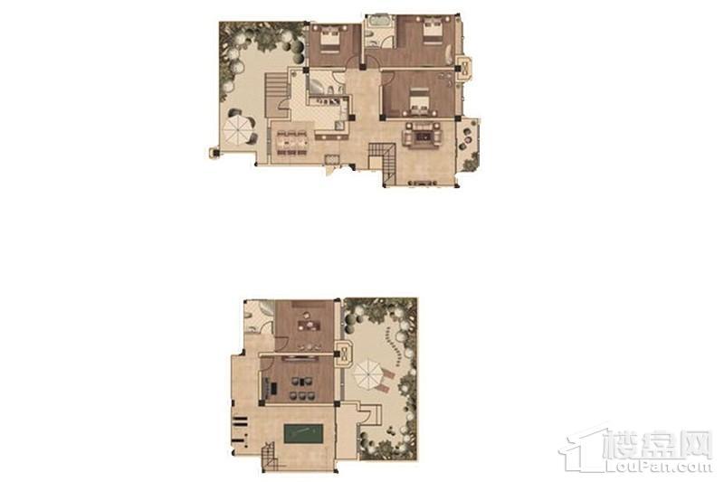 上海大公馆户型图