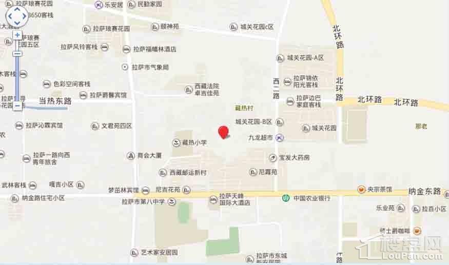 鸿运金茂广场位置图