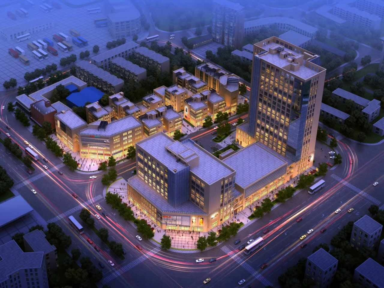 宁波柒里新都高清图