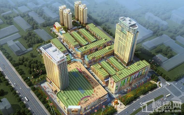 威海丰禾国际商业广场效果图