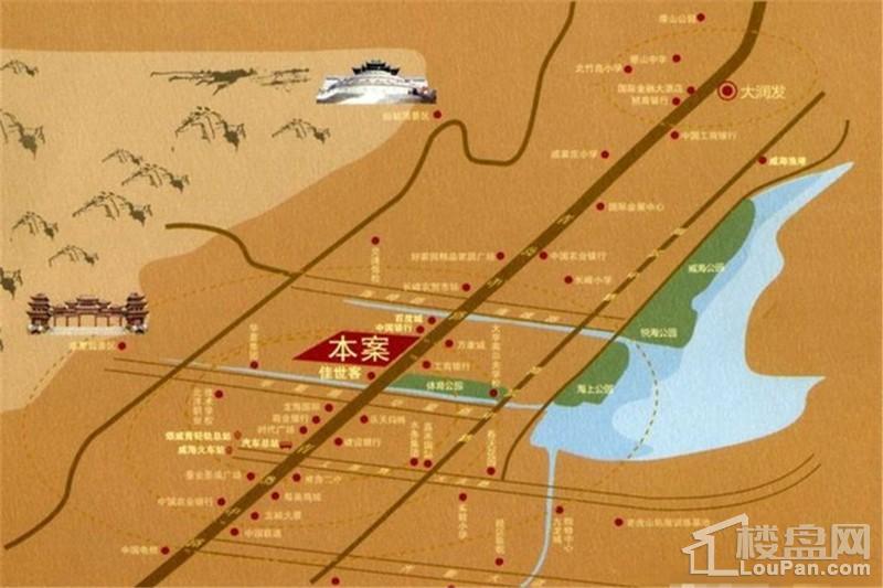 山花泰和府位置图