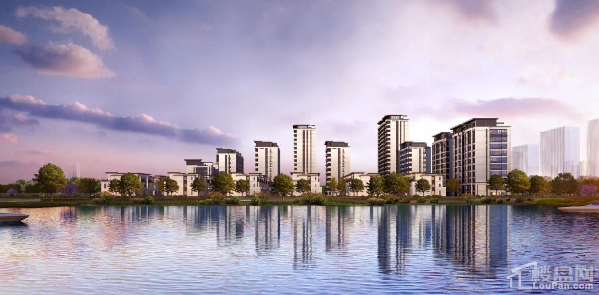 新城和昌·湖畔樾山效果图