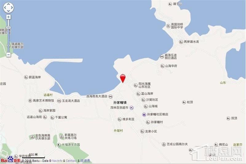 金海·悦庭位置图